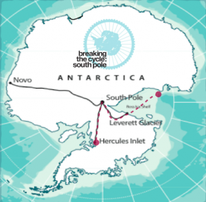 breaking the cycle south pole kate leeming