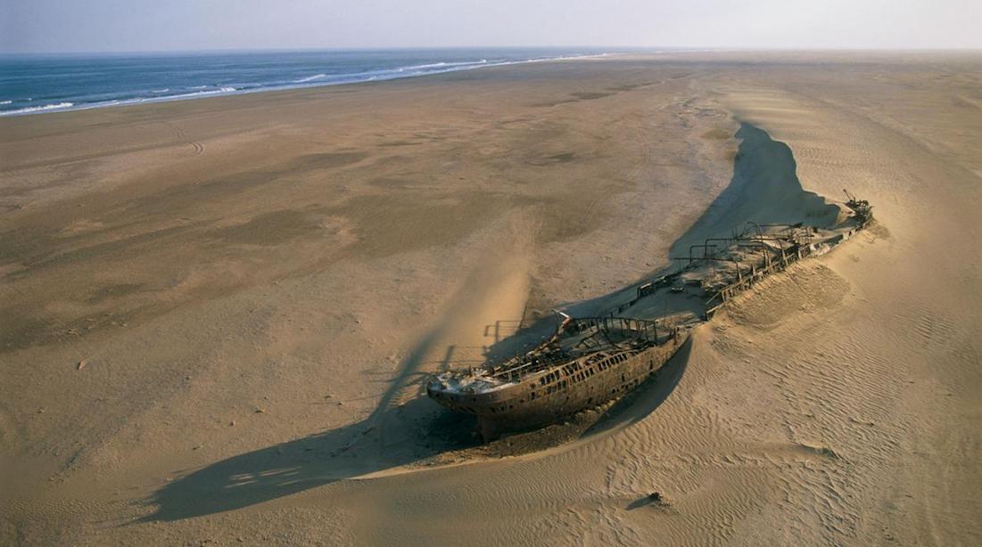 The Skeleton Coast, Namibia